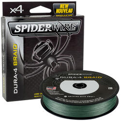 SPIDERWIRE FIR TEXTIL STEALTH 8 VERDE 025MM 27,3KG/150M