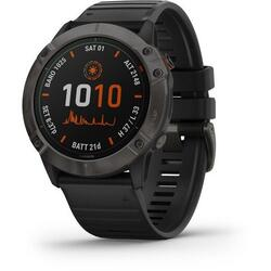 GARMIN CEAS FENIX 6X PRO SOLAR CARBON/BLACK 51MM