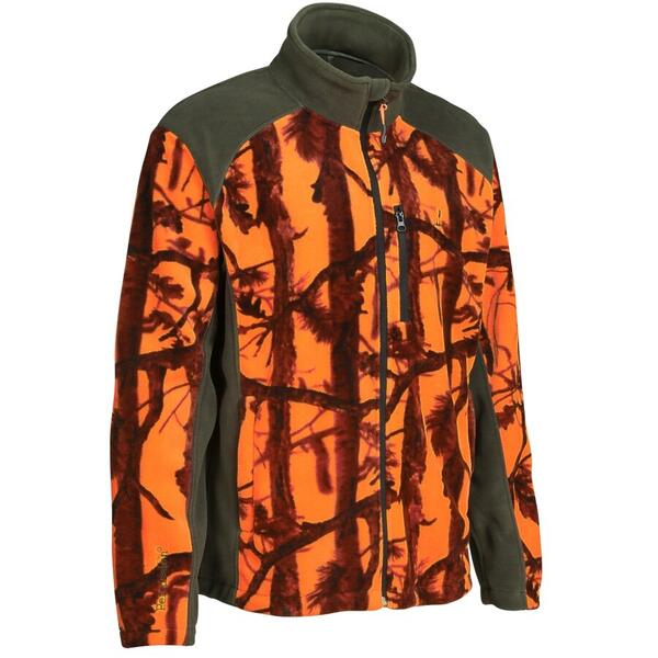 TREESCO JACHETA FLEECE CHASSE GHOSTCAMO MAR.L
