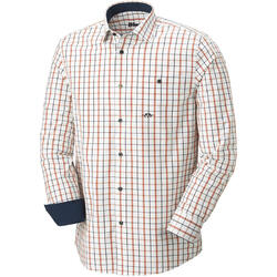 BLASER CAMASA OXFORD MODERN FIT NAVY/ORANGE MAR.3XL