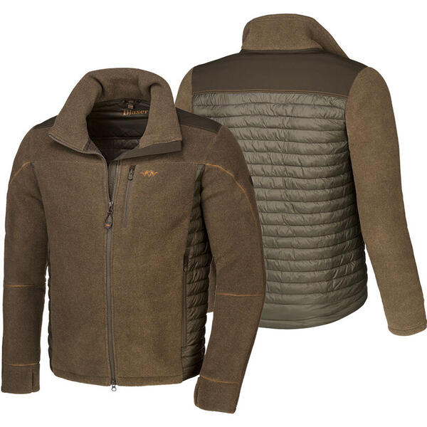 BLASER JACHETA FLEECE SPORTY MUD MAR.M