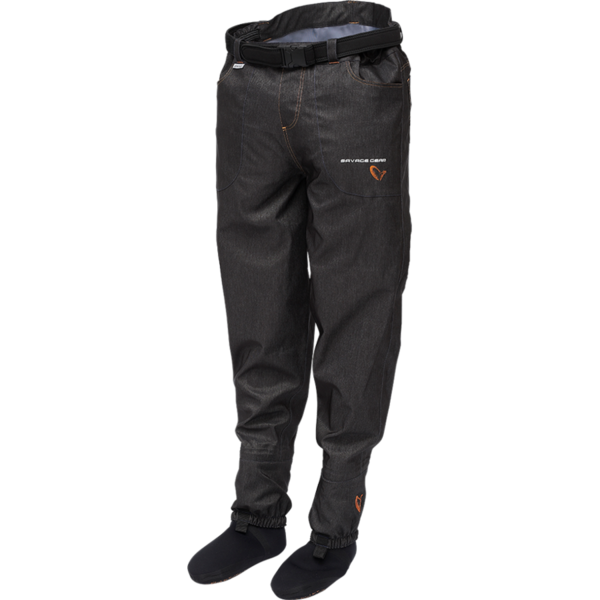 SAVAGE GEAR PANTALON DENIM WAIST WADERS STOCKING FOOT MAR.XL