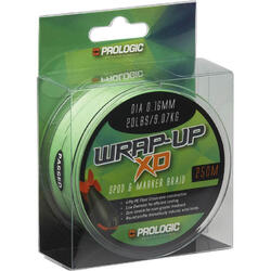 PROLOGIC FIR WRAP-UP XD BRAID 0.16MM/9.07KG/250M