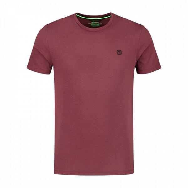 KORDA TRICOU LE SCALEY BURGANDY BLK PRINT MAR.2XL