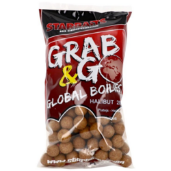 STARBAITS BOILIES G&G HALIBUT 20MM/1KG