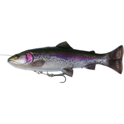 SAVAGE GEAR 4D LINE THRU PULSETAIL TROUT 16CM/51G RAINBOW TROUT
