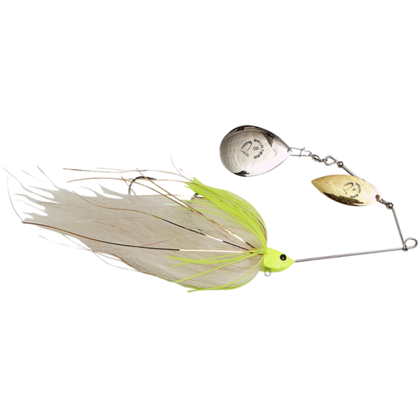 SAVAGE GEAR SPINNERBAIT DA MEGA BUSH NR.8/55G WHITE CHARTRUESE