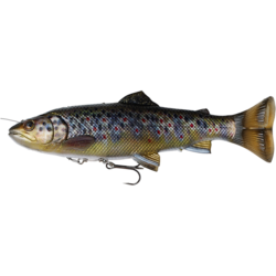 SAVAGE GEAR 4D LINE THRU PULSETAIL TROUT 16CM/51G BROWN TROUT