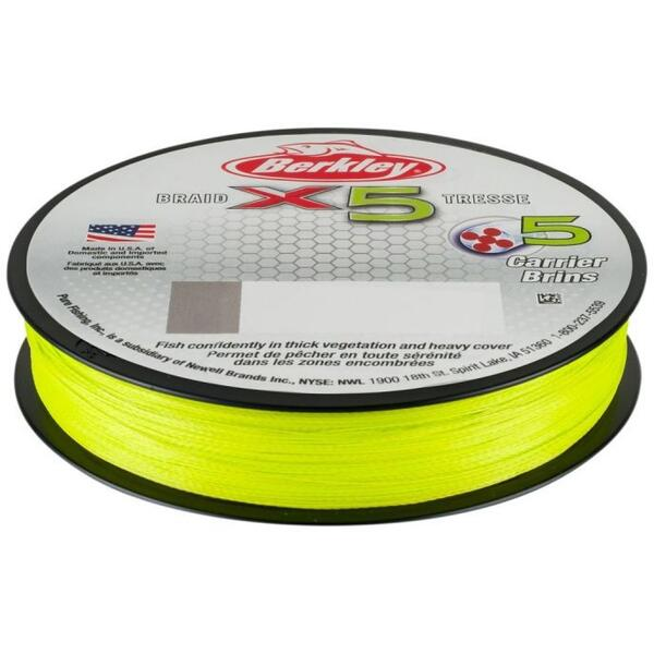 BERKLEY X5 FLURO VERDE 014MM/14,00KG/150M