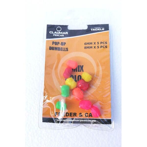 ARROW INT. POP-UP DUMBELLS ARROW MIX COLOR 6MM/8MM