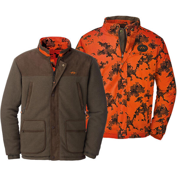 BLASER FLEECE CAMO REVERSIBILA BASTIAN MUD MAR.XL