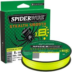 SPIDERWIRE FIR TEXTIL STEALTH SMOOTH 8 GALBEN 006MM/6,6KG/150M