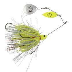 SAVAGE GEAR SPINNER DA BUSH 21G SINKING YELLOW SILVER HOLO FLAME