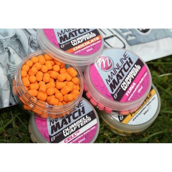 MAINLINE WAFTERS MATCH DUMBELL WHITE CELL.TM 10MM