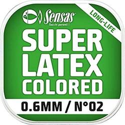 SENSAS ELASTIC SUPER LATEX BROWN 700% D=2,3MM/6M