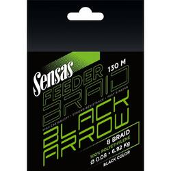 SENSAS FIR BLACK ARROW 8BRAID BLACK 012MM/9,9KG/130M