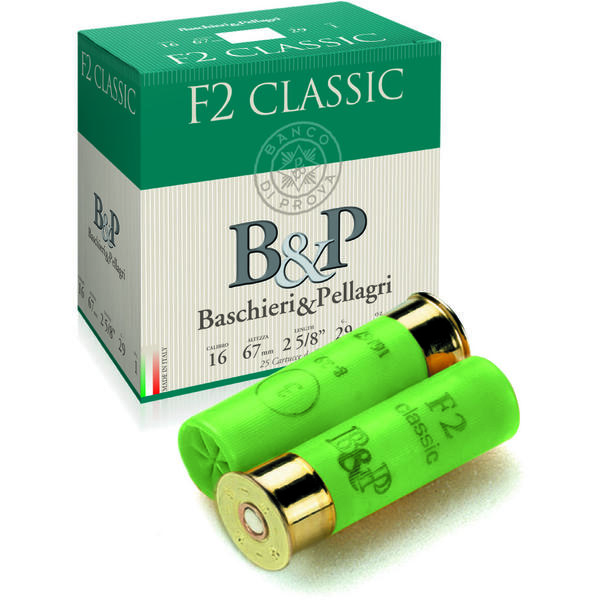 BASCHIERI & PELLAGRI F2 CLASSIC CALIBRUL 16/29G/3,9MM(0)